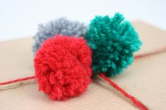 How to: Woolly Pom Poms