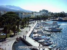 Ride colorfully in Kos, pass through the port and have a coffee with a friend. Greece Kos, Sailing Day, Places Ive Been, Places To Visit, Greek Islands, Holiday Destinations, Beautiful Places, Spaces, Vacation