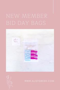 Celebrate your new members this recruitment with the Newbie Love bundle! Gift bag includes a sorority decal, hair tie set, and button set. Phi Mu Gift Bags   Phi Mu Bid Day   Phi Mu New Member Gifts   Phi Mu Recruitment   Sorority Bid Day   Sorority Recruitment   Bid Day Bags   Sorority New Member Gift Ideas #BidDayGifts #SororityRecruitment Phi Sigma Sigma, Delta Phi Epsilon, Alpha Omicron Pi, Pi Beta Phi, Kappa Alpha Theta, Phi Mu, Sorority Bid Day, Sorority Recruitment, Bid Day Gifts