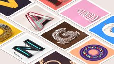 Letters in Motion on Behance