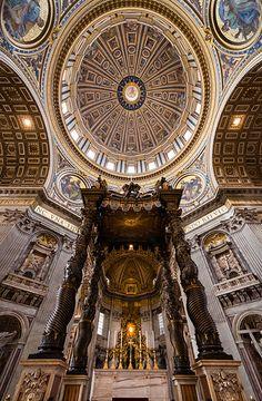 Sancti Petri.  Vatican City, Rome, Lazio, Italy.
