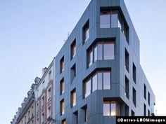 Le Courrier de l'Architecte | Logements rue Boinod à Paris ou la flexibilité selon Davar & associés