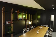 shelves     Paper Stone Scissors office by Russell & George, Melbourne