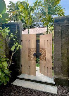 Modern Bali door