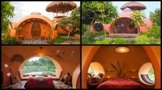 Thailand Dome House by Steve Areen
