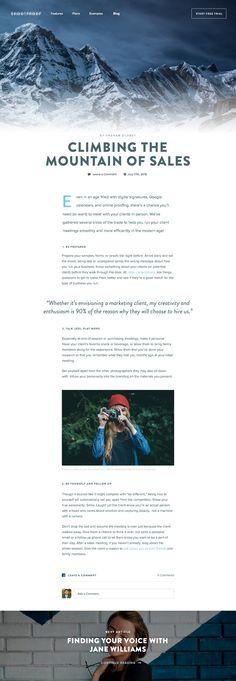 Blog Concept by Dallas Barnes