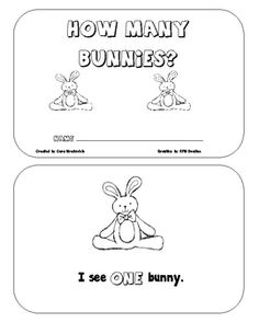 Emergent Reader which focuses on number words and sight words.