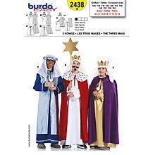 Buy Burda Children's Three Holy Kings Costume Sewing Pattern, 2438 Online at johnlewis.com