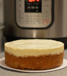 "These are the tips I've found to make that perfectly creamy, tangy cheesecake in my Instant Pot and 6"" spring form pan."
