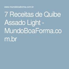 7 Receitas de Quibe Assado Light - MundoBoaForma.com.br