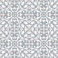 Carreaux de ciment Bahya carrelage collection motifs gris | Bahya