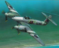 Navy Aircraft, Ww2 Aircraft, Fighter Aircraft, Military Aircraft, Aviation Theme, Aviation Art, Westland Whirlwind, Aircraft Propeller, Aircraft Painting