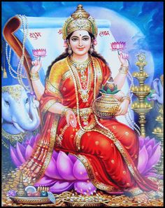 Lakshmi is the Hindu god of wealth, fortune & prosperity and also the wife of Lord Vishnu. Here is a collection of Goddess Lakshmi Images & HD wallpapers. Venus Astrology, Love Astrology, Career Astrology, Marriage Astrology, Deus Vishnu, Religion, Lakshmi Images, Lakshmi Photos, Krishna Images