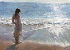 Painting by Vicente Romero Redondo artist | Recevez les actualités de mon blog gratuitement :