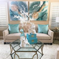 "We love seeing how YOU design your home with Z Gallerie furniture, like this ""enthusiast"" submission featuring the Edmond Sofa and spa-inspired decor from our 2017 Design Award. Home Living Room, Living Room Decor, Bedroom Decor, Teal Living Rooms, Z Gallerie Furniture, Interior Design Living Room, Living Room Designs, Pouf Design, Design Your Home"
