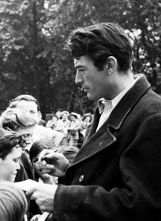 Gregory Peck: old Hollywood obsession; Roman Holiday anyone?