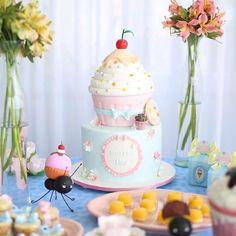Inspirações para festas infantis 🎊🎉 👰 @dentrodocasamento 📷 Imagens não autorais 🌍 Vitória/ES - Brazil  _ 📩 contato@dentrodafesta.com