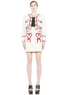 $440 | Vintage 1990s Moschino Cheap & Chic heart suit | MakiMaki | www.makimakivintage.com