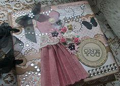 TPHH Debi Premade pages chipboard book Scrapbook Mini Photo album not paper bag  #MyMindsEye