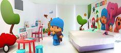 Hoteles para niños: Hotel del juguete habitación Pocoyó