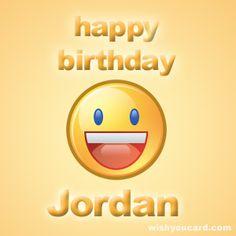 Happy Birthday, Jordan!