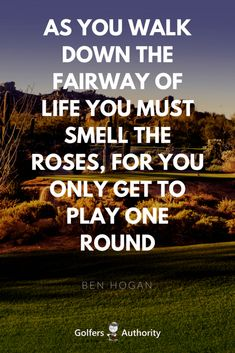 Inspirational Quotes About Golf With Images. Can words really inspire you? Do they really have the ability to inspire you to take action? Can they really motivate you. We think so and is why we love finding the best golf quotes to help improve your go Golf Etiquette, Golf Putting Tips, Golf Instruction, Golf Player, Golf Quotes, Golf Sayings, Golf Lessons, Life Lessons, Golf Humor
