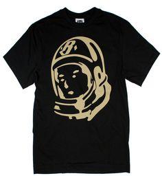 BILLIONAIRE BOYS CLUB Helmet tee in Black B0012T208, Free Shipping at CelebrityModa.com