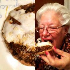 My aunt Belén made some homemade mole sopes for dinner...  Buy mile paste, refried beans and masa flour @ mxflavour.com.au #glutenfree #coeliacdesease #mexicanfood