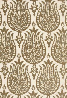 contemporary re-interpretation of ottoman tulip textile