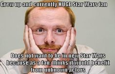 """GG Simon Pegg - Imgur // Yes, people are ragging on him since he was in """"Star Trek,"""" but I think this is a great sentiment."""