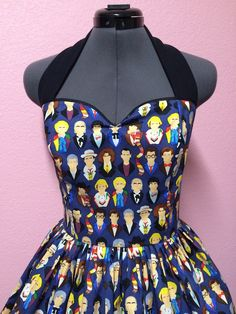 The Many Faces Of 'Doctor Who' Dress