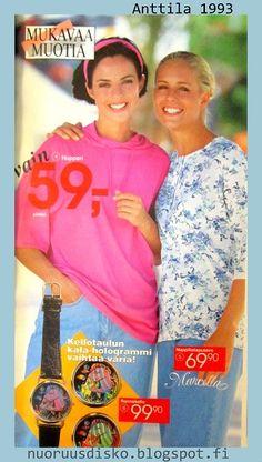 Kesän 1993 muotimaisema