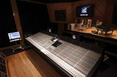 SSL 9000J in the Control room for Studio A at Gat3