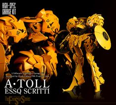 1/100 scale High Spec Garage Kit A・TOLL ESSQ SCRITTI