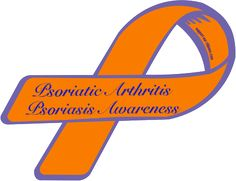 Custom Ribbon: Psoriatic Arthritis / Psoriasis Awareness