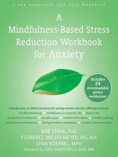 In The Mindfulness-Based Stress Reduction Workbook for Anxiety, three mindfulness-based stress reduction (MBSR) experts provide mindfulness meditations and exercises to help sooth anxiety, understand common triggers, and live more fully in the moment. Anxiety Help, Social Anxiety, Stress And Anxiety, Anxiety Humor, Anxiety Quotes, Anxiety Thoughts, Health Anxiety, Mindfulness Meditation, Psicologia