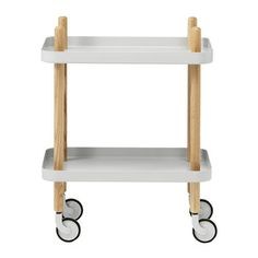 Block Table - Light Grey