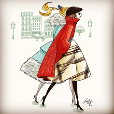 Kyoko Aoyama illustration