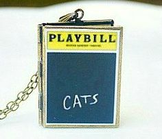 Cats, Musical Theater, Andrew Lloyd Webber, Broadway Theatre, West End, New London Theatre, Memory, Tony Award Best Musical, Playbill Gift