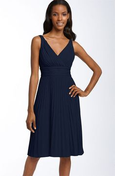 Suzi Chin for Maggy Boutique Pleated Jersey Dress available at Nordstrom