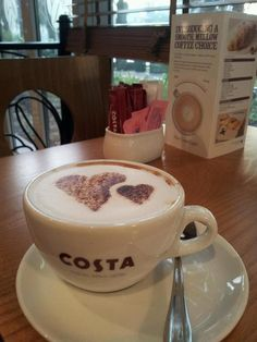 """See 121 photos and 43 tips from 749 visitors to Costa Coffee. """"Try their mozzarella and dried tomato panini but if you order a strawberry tart, be. Coffee World, Coffee Time, Apple Cup, Costa Coffee, Coffee Shop, Coffee Lovers, Perfect Food, Snack, Coffee Beans"""
