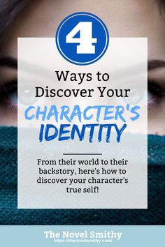 Your protagonist's identity will answer a ton of questions, from why your hero behaves the way they do, to what inner challenges they'll face in your novel. So, in this article, let me introduce you to just how important character identity really is—as well as a few tips for finding your protagonist's identity! Fiction Writing, Writing Advice, Writing Resources, Grammar Tips, A Writer's Life, Story Prompts, Book Authors, Children's Books, Character Development