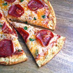 Healthy Cauliflower Crust Pizza Recipe