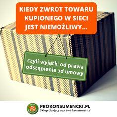 14-dniowe prawo do odstąpienia od umowy zawartej przez Internet nie obowiązuje przy okazji wszystkich towarów. Są pewne wyjątki, gdy zwrot nie jest możliwy ❎ Jakie? Czytajcie w naszym artykule ➡ https://prokonsumencki.pl/blog/wyjatki-od-prawa-odstapienia-od-umowy-od-25-grudnia-2014-roku-zgodnie-z-nowa-ustawa-o-prawach-konsumenta/