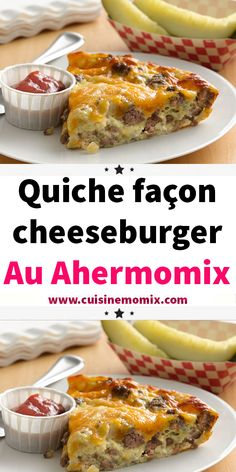 Pizza Recipes 50979 Here is a delicious Cheeseburger Quiche recipe with minced meat, simple and easy to make with thermomix. Vegetarian Pizza Recipe, Vegetarian Wraps, Healthy Pizza Recipes, Quiche Recipes, Vegan Breakfast Recipes, Snack Recipes, Cheese Burger, Bacon And Cheese Quiche, Wrap Recipes