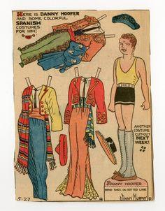 Toots and Casper paper dolls | 78.2389: Danny Hoofer-Spain | paper doll | Paper Dolls | Dolls ..5-27-34.