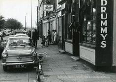 Photograph, street scene, Cork, Lavitt's Quay/Kyrl's Quay showing Drummys' shop and D. Cork City Ireland, Hurley, Old Photos, Photograph, Public, Scene, Thoughts, History, Street