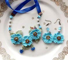 Tuto Bouton Fleur Crochet