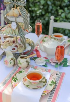 These ideas will help you to host an English style high tea party Source: www.liagriffith.com
