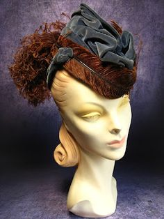 The Couture Touch: Vintage Inspiration: 1940's Hats